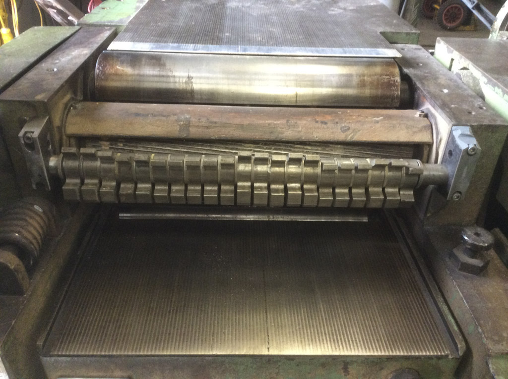 Renew Broken Shaft Mountings On A Machine